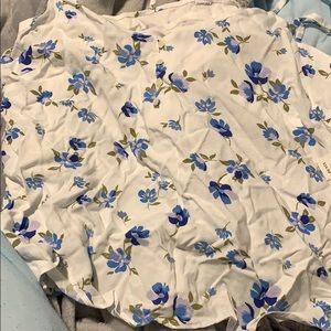 old navy cami flowered tank top
